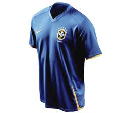 Camisa II do Brasil - versãopopular