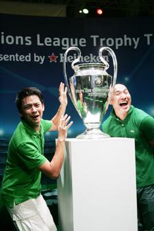 UCL Trophy Tour emBangkok
