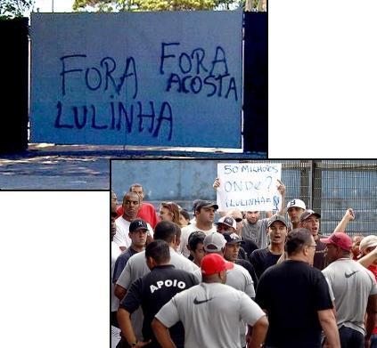 Protestos no Corinthians