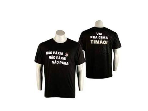 """Camiseta """"Não Pára"""""""