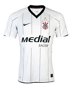 30810bd602 Novo modelo de camisa oficial do Corinthians