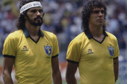 Na Copa de 1986, craques como Sócrates e Casagrande eram acessiveis (Placar)