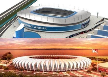 Porto Alegre poderia ter dois estádios na Copa?