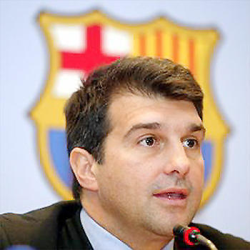 Presidente do Barça está de olho nos talentos brasileiros
